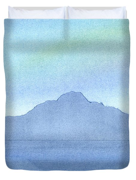 Afternoon On The Water Duvet Cover by Hakon Soreide