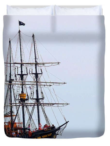 Ahoy Duvet Cover by Billie-Jo Miller
