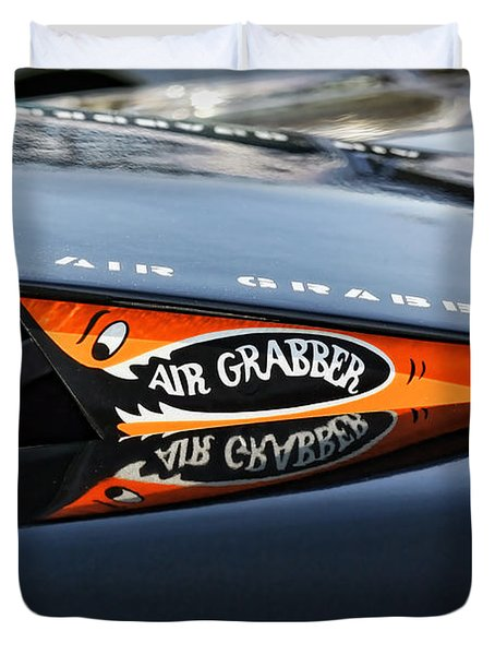 Air Grabber Hood Duvet Cover