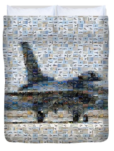 Airforce F-4866 Mosaic  Duvet Cover by Darleen Stry