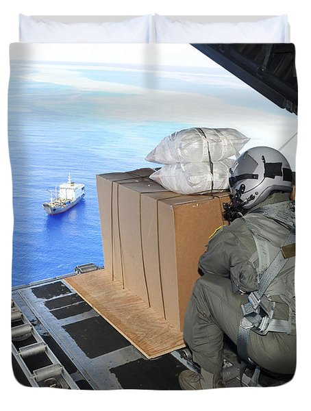 Airmen Gauge The Distance Duvet Cover