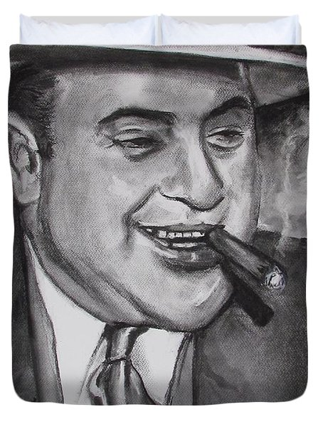 Al Capone 0g Scarface Duvet Cover