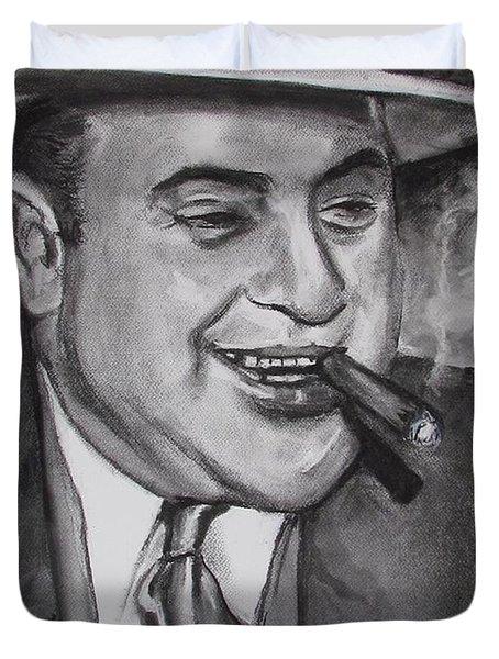 Al Capone 0g Scarface Duvet Cover