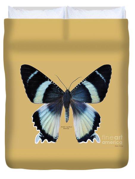 Alcides Agathyus Butterfly Duvet Cover