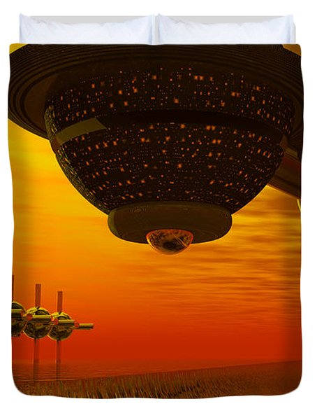 Alien Homecoming Duvet Cover