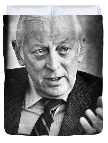 Alistair Cooke (1908-2004) Duvet Cover by Granger