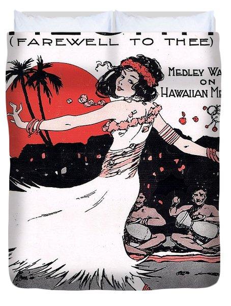 Aloha Duvet Cover