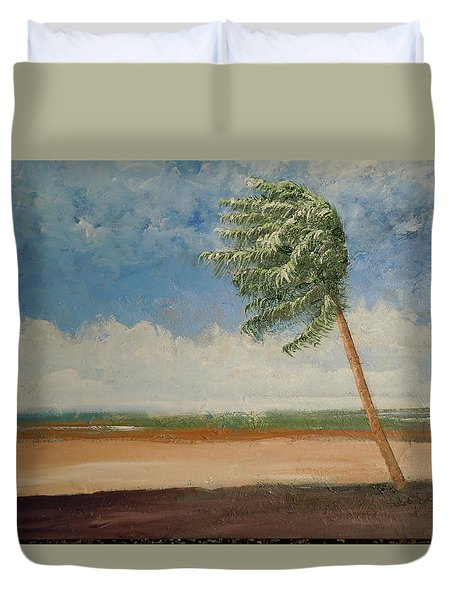 Alone In Paradise  Duvet Cover