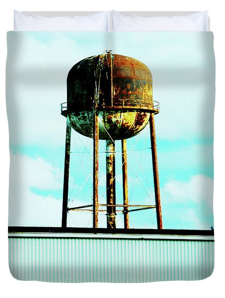 Duvet Cover featuring the photograph Along Highway 61 by Lizi Beard-Ward