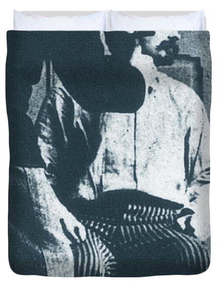 Alphonse Bertillon, French Biometrician Duvet Cover by Science Source