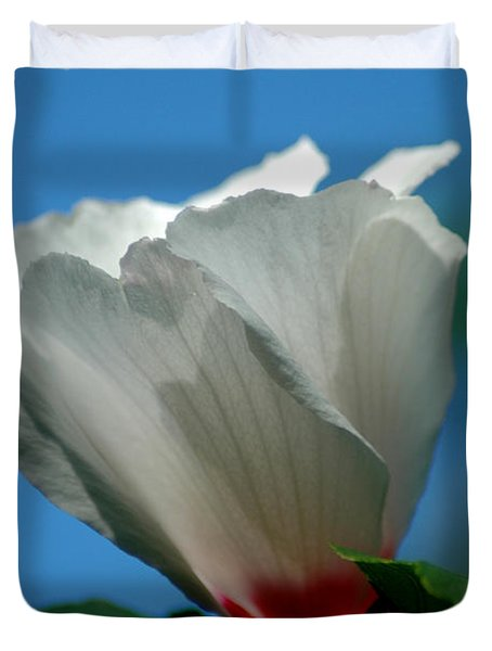 Althea Flower Duvet Cover by David Weeks