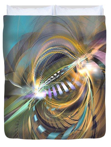 Amadeus - Abstract Art Duvet Cover