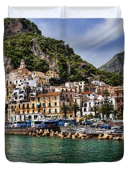 Amalfi Duvet Cover by David Smith