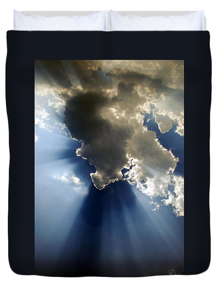 Amazing Grace Duvet Cover by Skip Willits
