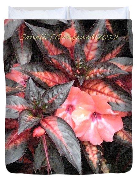Amazing Hues Of Nature Duvet Cover by Sonali Gangane