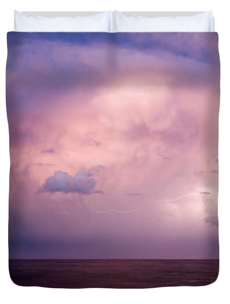 Amazing Skies Duvet Cover by Stelios Kleanthous