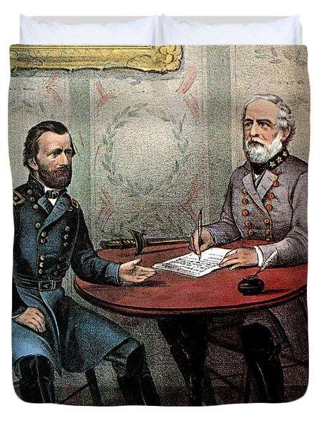 American Civil War  Duvet Cover by Photo Researchers