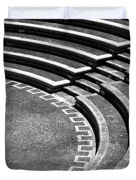 Amphitheatre Duvet Cover by Gaspar Avila