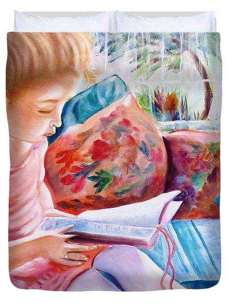 An Open Book Duvet Cover