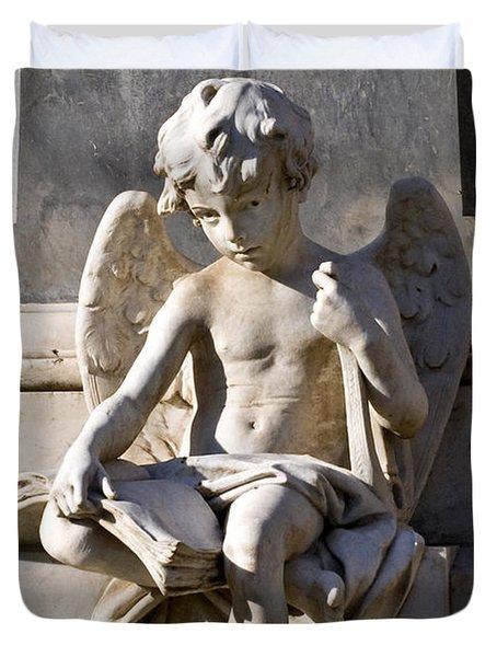 Angel Of Baroque Duvet Cover