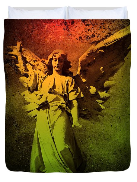 Angel Of Death Duvet Cover