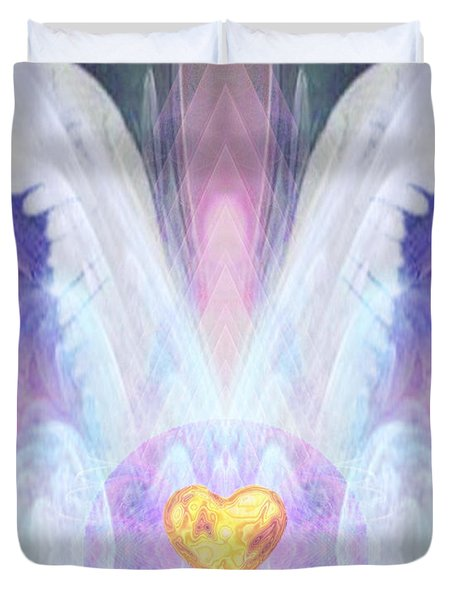 Angel Of The Innocent Duvet Cover