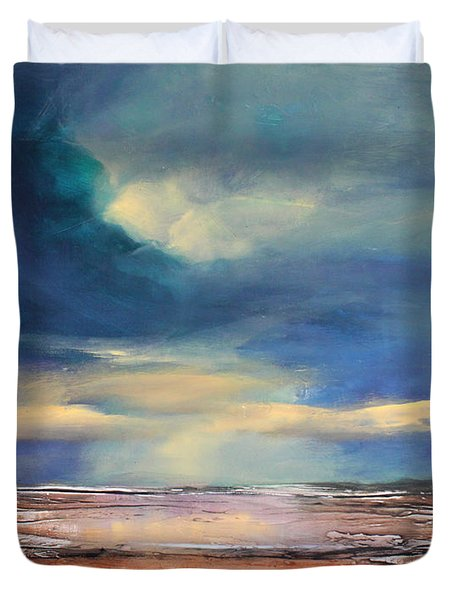 Angel Sky Duvet Cover by Toni Grote