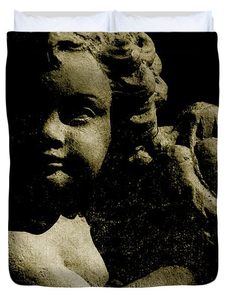Angelina My Little Angel Duvet Cover by Susanne Van Hulst