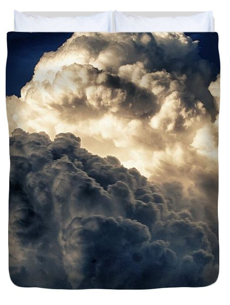 Angels And Demons Duvet Cover by Syed Aqueel