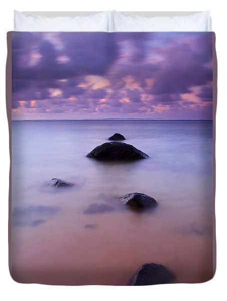 Anini Breeze Duvet Cover by Mike  Dawson