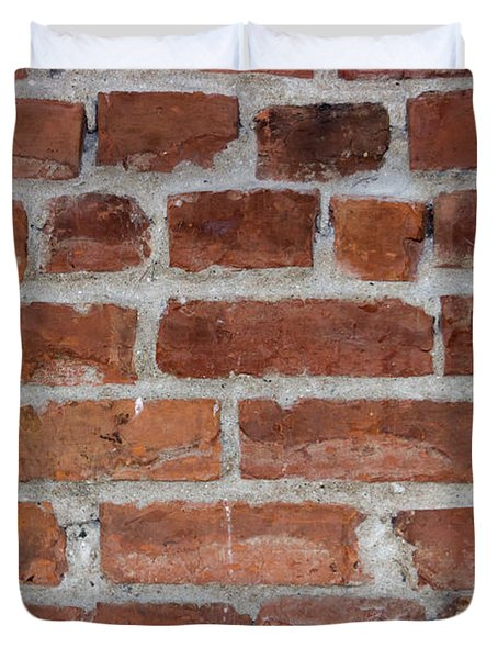 Another Brick In The Wall Duvet Cover by Heidi Smith