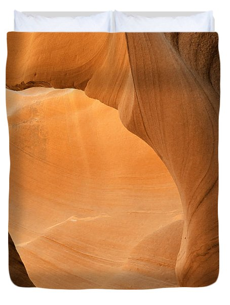 Antelope Canyon - Another World Duvet Cover by Christine Till