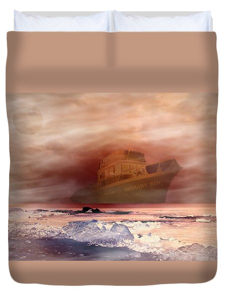 Anthony Boy's Magical Voyage Duvet Cover