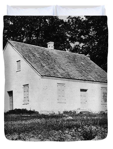 Antietam: Dunker Church Duvet Cover