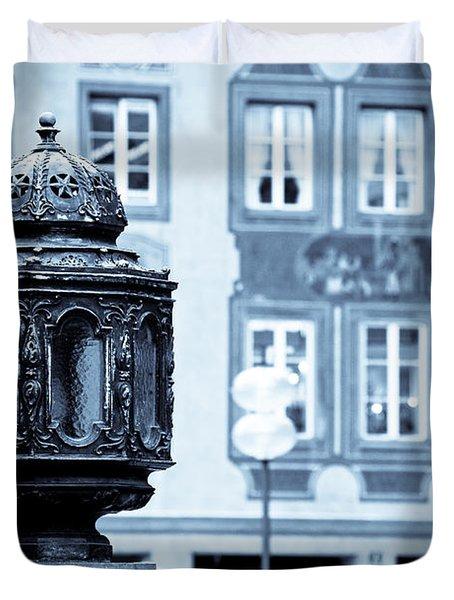 Antique Design Duvet Cover by Syed Aqueel