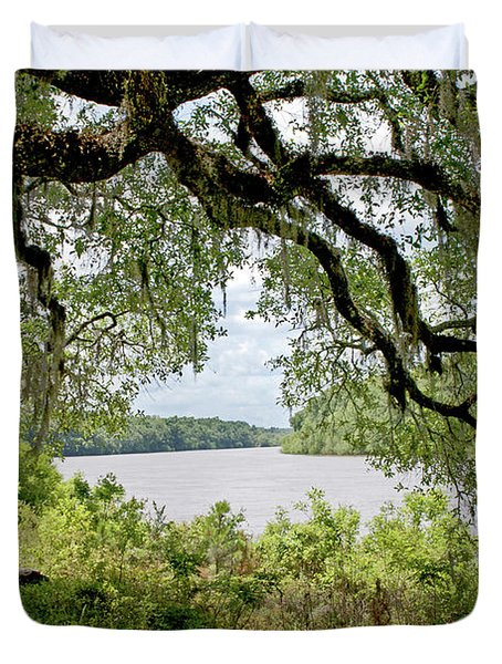 Apalachicola River Duvet Cover by Paul Mashburn