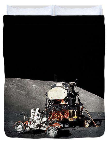 Apollo 17 Astronaut Makes A Short Duvet Cover