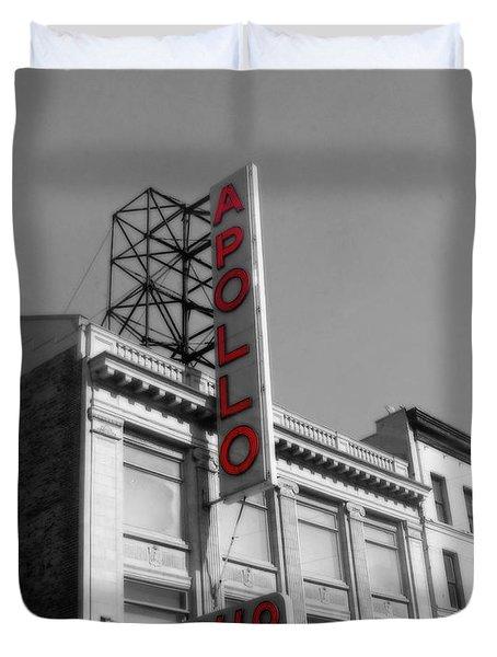 Apollo Theater In Harlem New York No.2 Duvet Cover