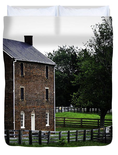 Appomattox County Jail Duvet Cover