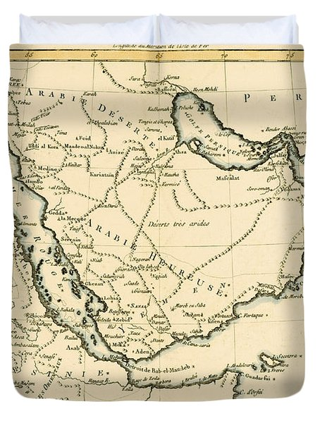 Arabia Duvet Cover by Guillaume Raynal