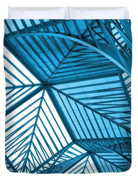 Architecture Design Duvet Cover by Carlos Caetano