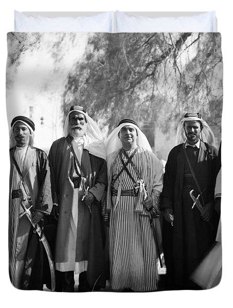 Aref Al-aref (1892-1973) Duvet Cover by Granger