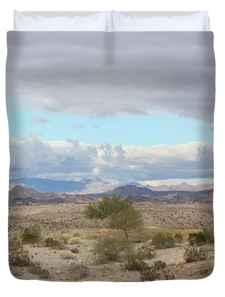 Arizona Desert View Duvet Cover