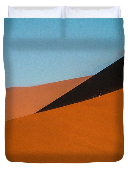 Around The Edge Duvet Cover