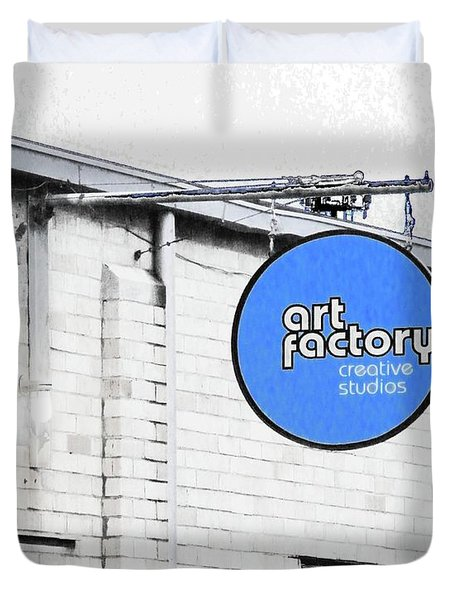 Art Factory Duvet Cover