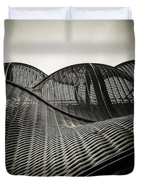Artistic Curves Duvet Cover