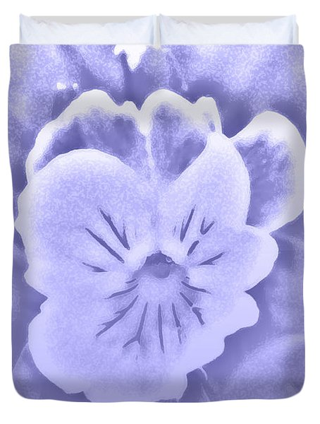 Artistic Pansy Duvet Cover