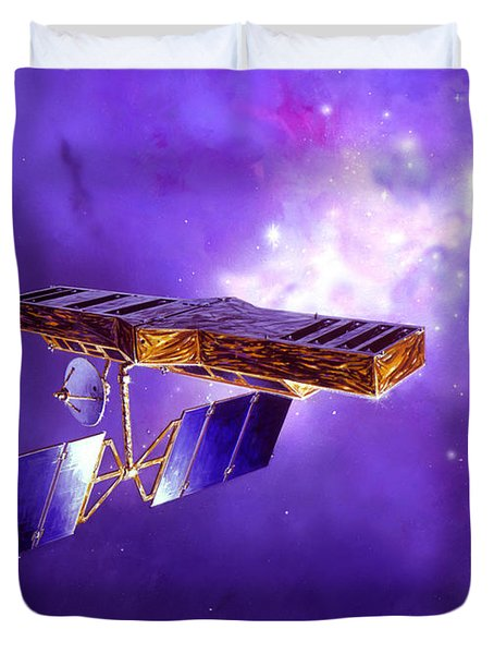 Artists Concept Of Space Interferometry Duvet Cover by Stocktrek Images