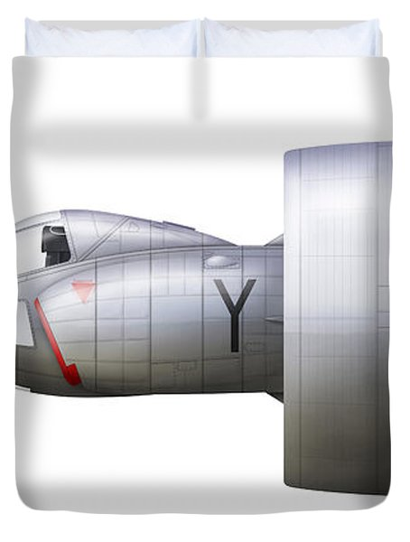 Artists Concept Of The Snecma Duvet Cover by Chris Sandham-Bailey