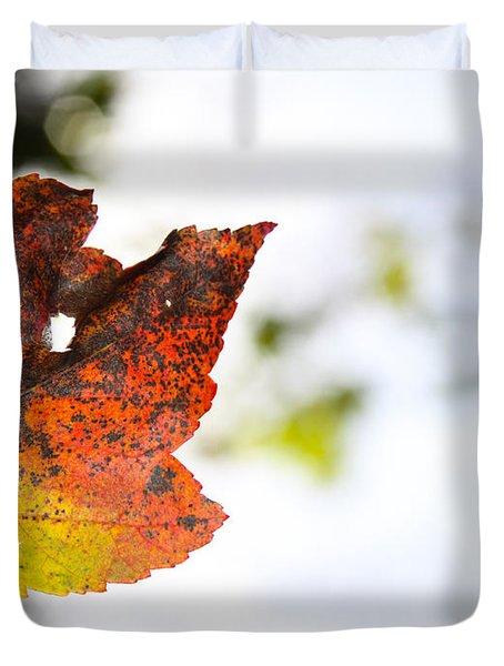 Artsy-fartsy Autumn I Duvet Cover